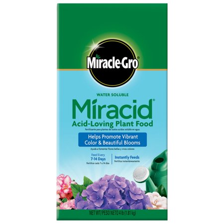 Miracle Gro 4 Lb Water Soluble Miracid Acid Loving Plant Food