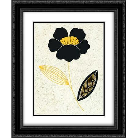 Champagne Supernova I 2x Matted 20x24 Black Ornate Framed Art Print by Design Show (Champagne Supernova Single)