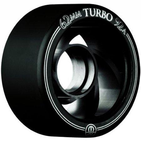 Turbo Hub (Rollerbones Turbo 101A Speed/Derby Wheels with an Aluminum Hub (Set of 8), 62mm,)