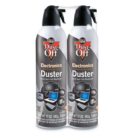 Disposable Compressed Air Duster, 3.5 oz Can