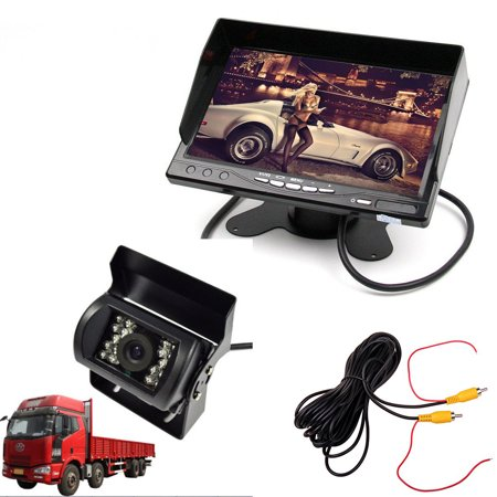 Car 12V 24V Truck Rear View Parking System (7