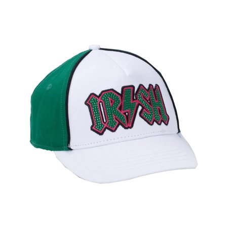 Adult's Happy St. Patrick's Day Irish Color Baseball Cap Costume Accessory - Baseball Themed Halloween Costumes