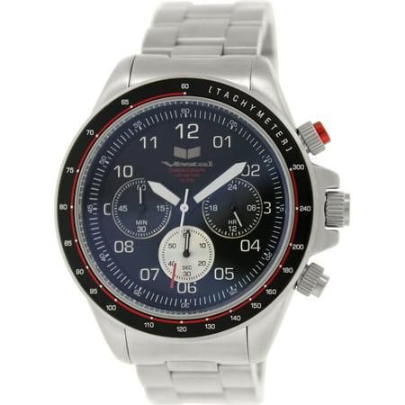 Vestal Men's Zr-2 ZR2020 Silver Stainless-Steel Quartz Fashion Watch