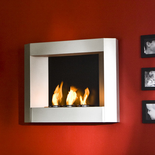 Wildon Home  Sevilla Wall Mounted Gel Fuel Fireplace