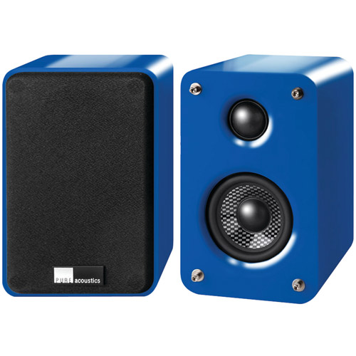 """New Pure Acoustics Dreambox Blue 3"""", 2-Way Dreambox Speakers (Blue)"""