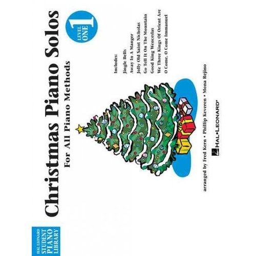 Christmas Piano Solos: Level 1