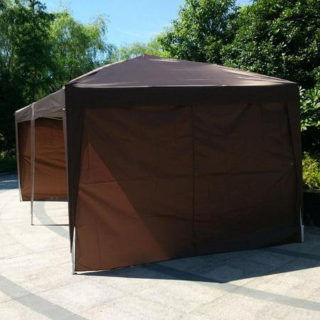 10 Canopy Side Wall - Ktaxon 10'X 20' Outdoor Patio Gazebo EZ POP UP Party Tent 51lbs Wedding Canopy W/4 Side Walls