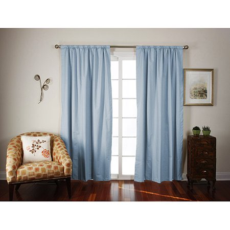 Roc-Lon Blackout Tailored Energy Efficient Curtain Panel ...