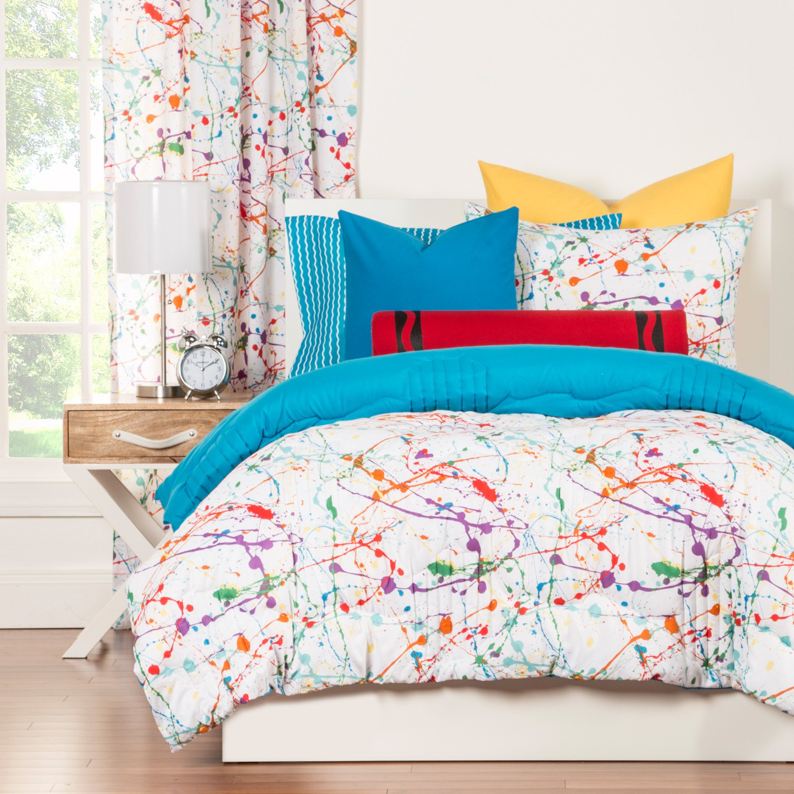 Crayola SplatTwin Comforter Set