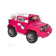 Dynacraft Hello Kitty 6V Battery Powered Jeep