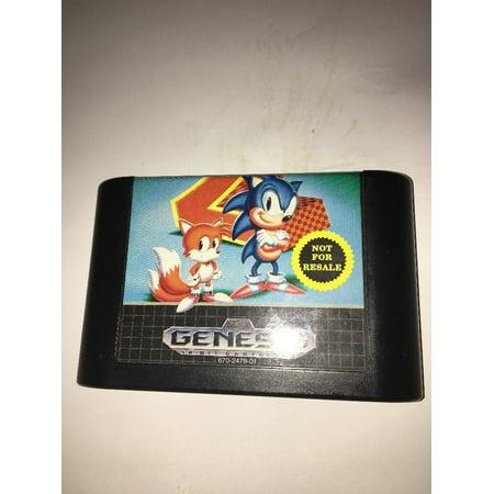 Sonic The Hedgehog 2 Sega Genesis Game Cart OnlyTested FAST SHIPPING In 24 (Sonic The Hedgehog Genesis Of A Hero)