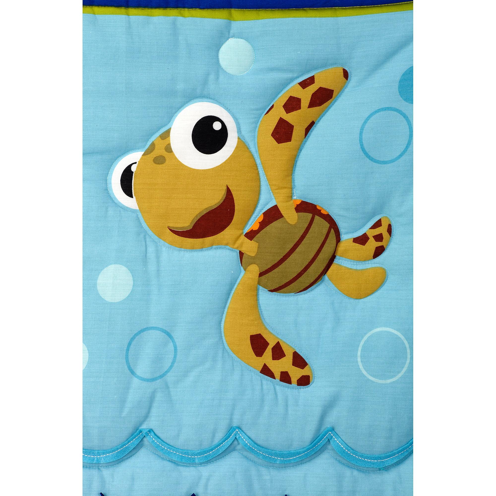 Disney Baby Bedding Nemo S Wavy Days 4 Piece Crib Set Com
