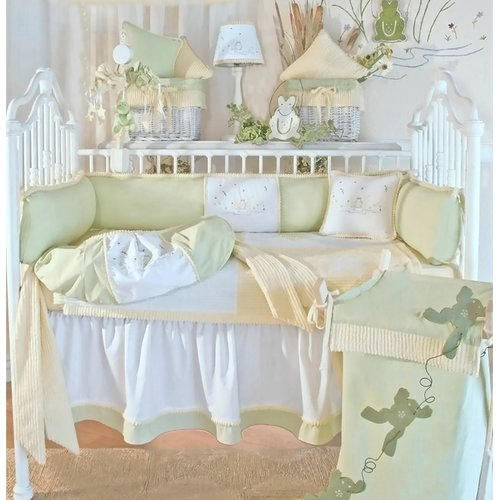 Brandee Danielle Froggy 4 Piece Crib Bedding Set