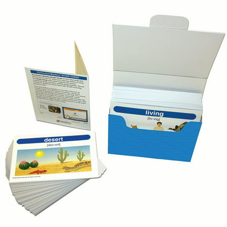 gr 1 2 science vocabulary builder flash card set walmart com