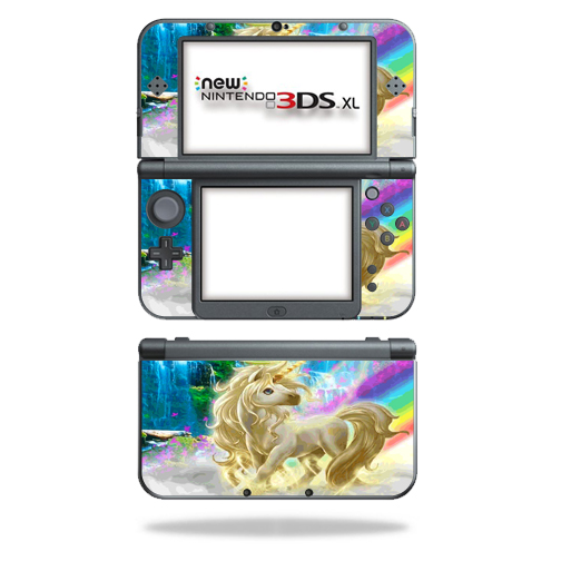 Skin Decal Wrap for New Nintendo 3DS XL (2015) cover sticker Unicorn