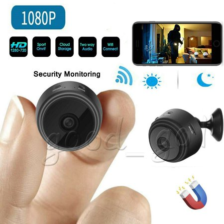 Mini Camera Wireless Wifi Home Security 1080P DVR Night Vision Motion Detection Wireless Motion Light Camera