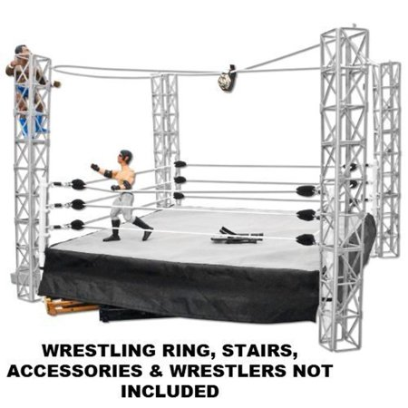 Highwire War Wrestling Action Figure Playset by Figures Toy Company - Toys And Company