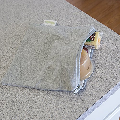 Woombie B-Green Snack Bags (Twilight Gray, One Size)