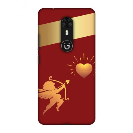 Gionee A1 Case, Premium Handcrafted Designer Hard Shell Snap On Case Printed Back Cover with Screen Cleaning Kit for Gionee A1, Slim, Protective - Angel Heart - Angel A1 Fly