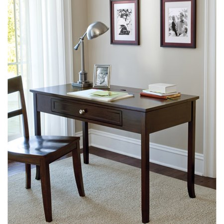 Canopy Cornerstone Collection Writing Desk Multiple Finishes Mahogany Disco