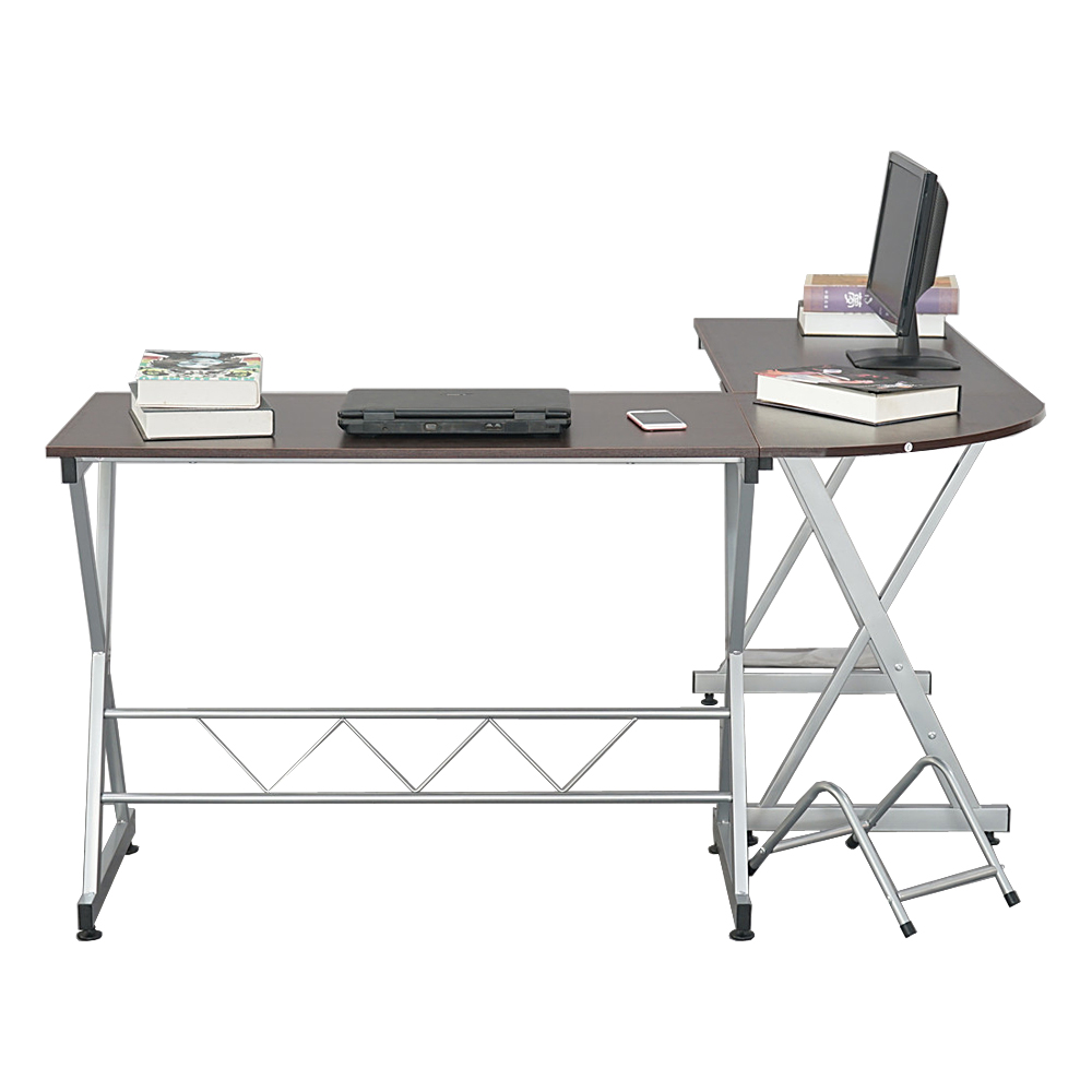 L Shaped Desks With Wooden Tabletop, Home Office L Shaped Corner Table  Computer Desk, Laptop Study Writing Table Workstation For Writing, Working,  ...