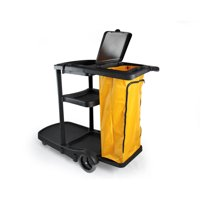 Commercial Janitorial Janitor cart with cover And Vinyl Bag