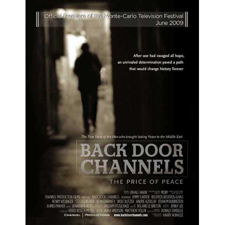 - Back Door Channels: The Price of Peace POSTER Movie Mini Promo