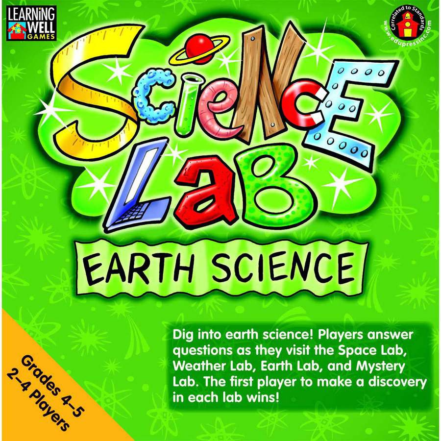 Edupress Learning Well Science Lab Game Set, Grades 4 to 5