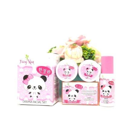 Fairy Skin Derma Facial Set Korean Skin Glow Effect (Healthy Glow Effect)