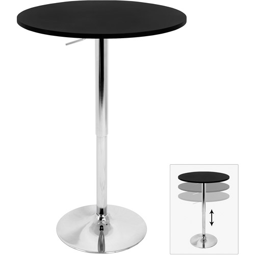 Adjustable Bar Table, Multiple Colors
