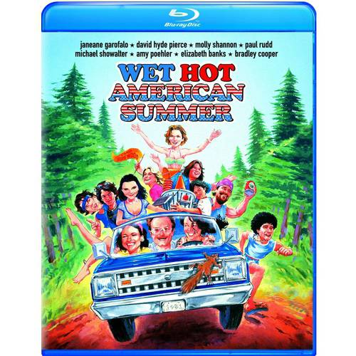 Wet Hot American Summer (Blu-ray) (With INSTAWATCH)