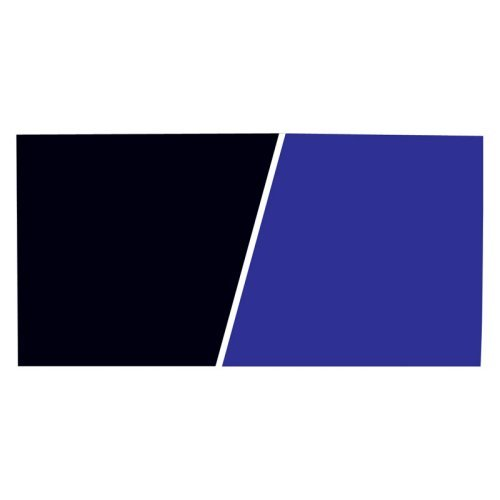 "Marina Freshwater Saltwater, 24""x 25' Aquarium Background, Black Royal Blue by Hagen"