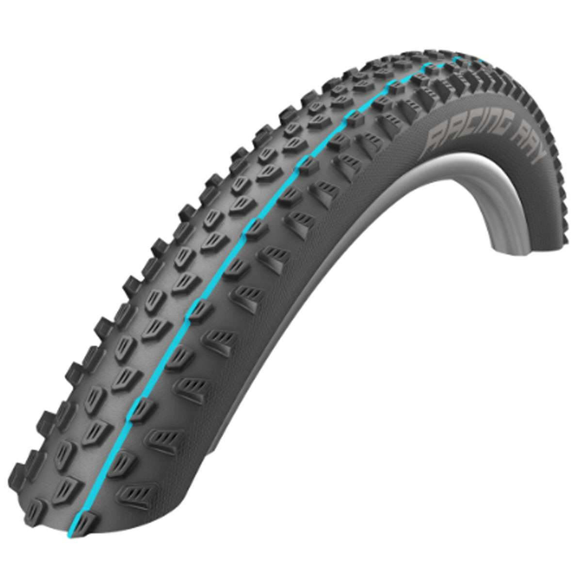 Schwalbe Racing Ray Front Performance TL Ready Cross Country Bicycle Tire - 29 x 2.25 - 11601111