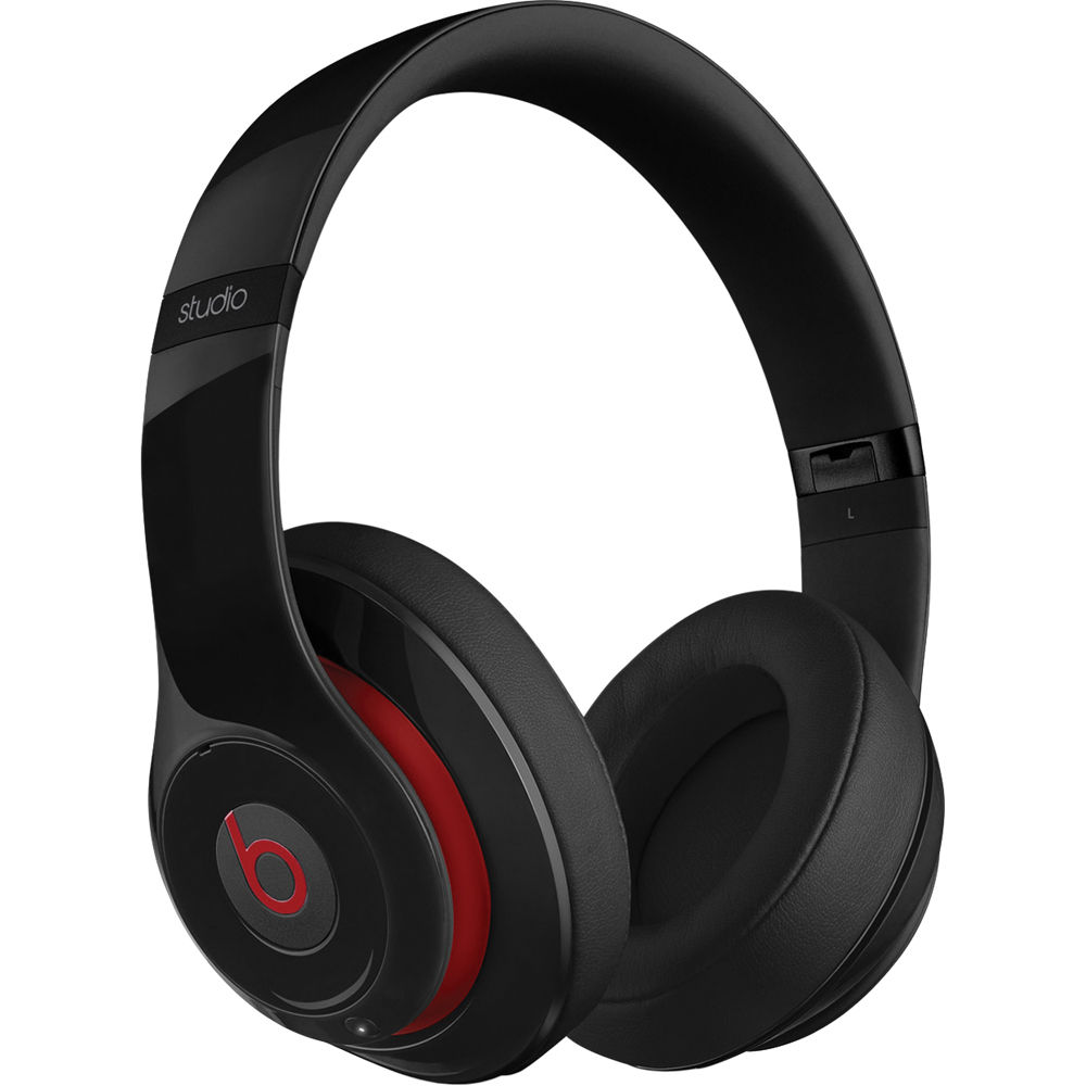 Refurbished Apple Beats Studio 2.0 Black Wired Over Ear Headphones MH792AM/A