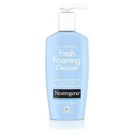 Neutrogena Fresh Foaming Facial Cleanser & Makeup Remover, 6.7 fl.