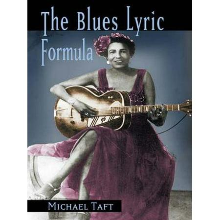 The Blues Lyric Formula - - Halloween Blues Lyrics