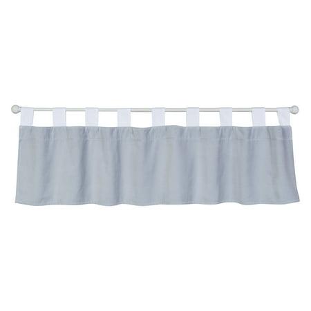 - Trend Lab Gray Washed Velvet Window Valance