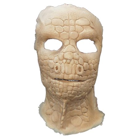 Lizard Foam Latex Face Adult Halloween - Latex Paint Halloween
