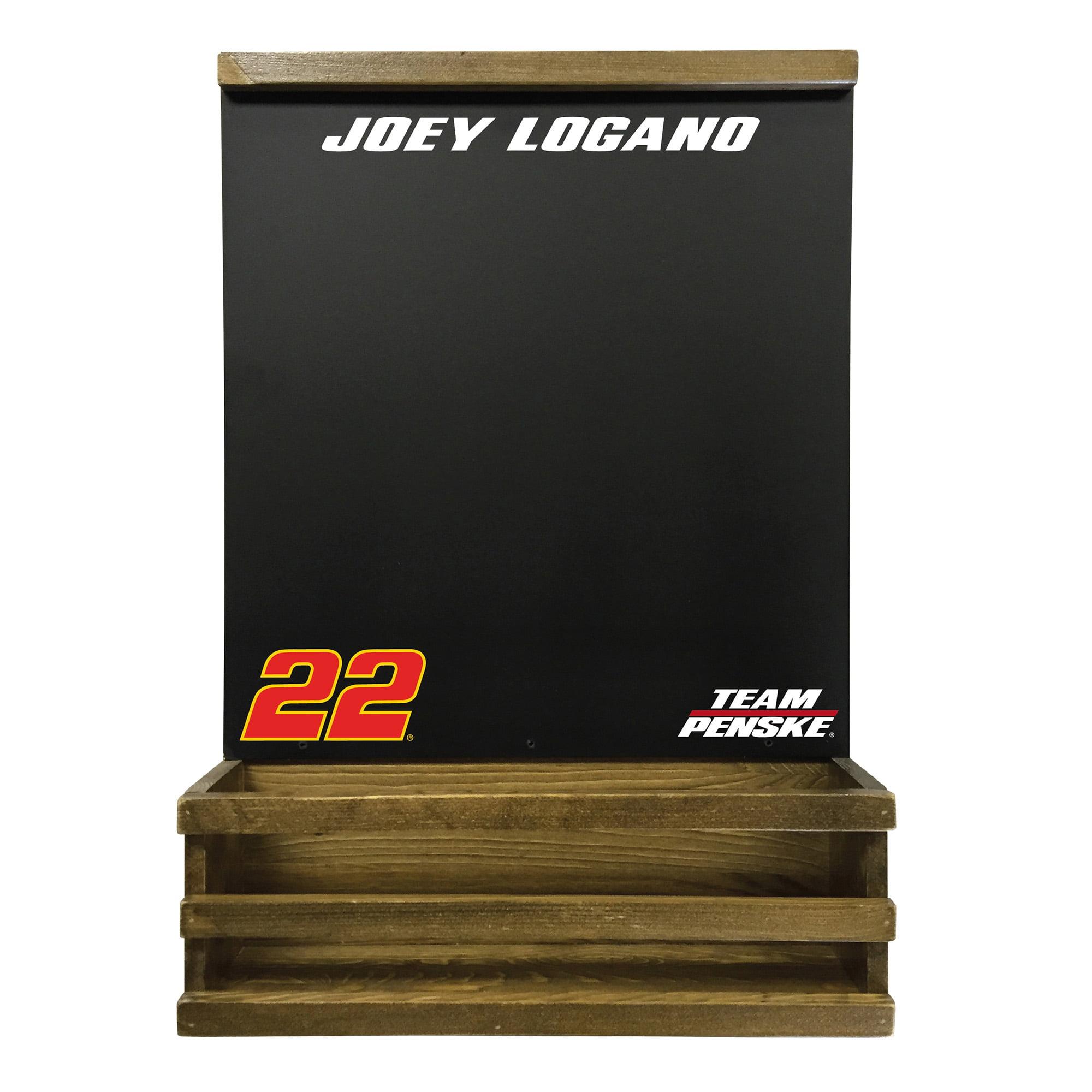 Joey Logano Hanging Chalkboard - No Size