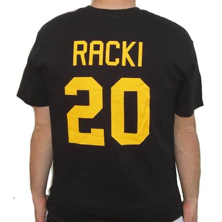 Carl Racki #20 Bombers Jersey T-Shirt Youngblood Thunder Bay Bombers
