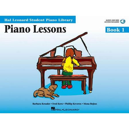 Piano Lessons Book 1 : Hal Leonard Student Piano