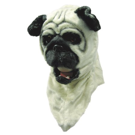 Moving Mouth Mask - Bull Dog Halloween Costume - Egyptian Dog Mask