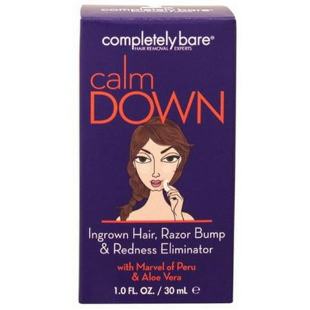 Completely Bare Calm Down Ingrown Hair, Razor Bump & Redness Eliminator 1