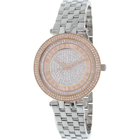 Michael Kors Women's Mini Darci MK3446 Silver Stainless-Steel Quartz Fashion Watch