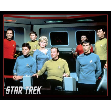 Star Trek Group Original Series Tv Show Poster 20X16 Inch