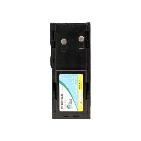 2x Pack - Motorola GP300 Battery - Replacement for Motorola HNN9628 Two-Way Radio Battery (1800mAh, 7.5V, NIMH) - image 1 de 4