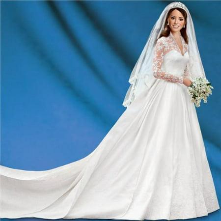 Kate Middleton Bride Doll   Princess Catherine Wedding Doll by ...