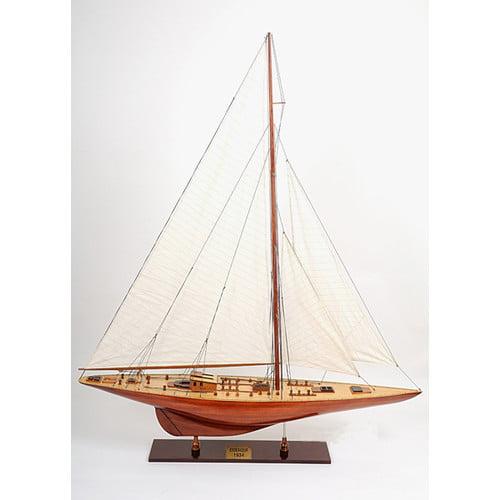 Old Modern Handicrafts X-Large Endeavour Model Boat by Old Modern Handicrafts