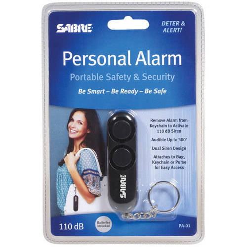 Sabre Personal Alarm, Black
