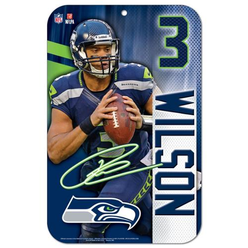 Seattle Seahawks Official NFL 11 inch x 17 inch  Sign by Wincraft